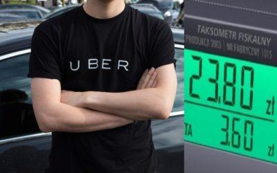 W co gra Uber, gdy wystawia cenę przejazdu? Ta odpowiedź firmy na reklamację klienta zwala z nóg