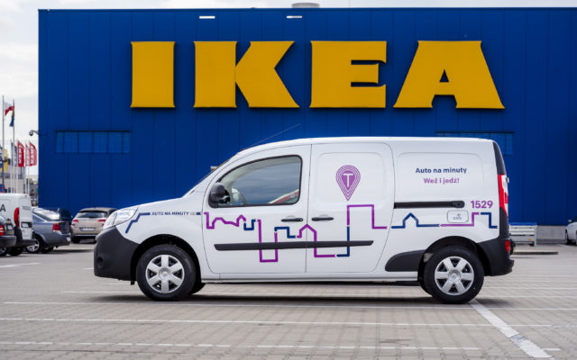 Startuje dostawczy carsharing IKEA. Ale auta nie zostawisz gdzie chcesz. Kto na to pójdzie?