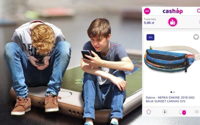 Cashap, czyli zrób zrzutkę na swój prezent i kup go przez smartfona. Bez konta i karty! Debiutuje ciekawa aplikacja dla młodzieży