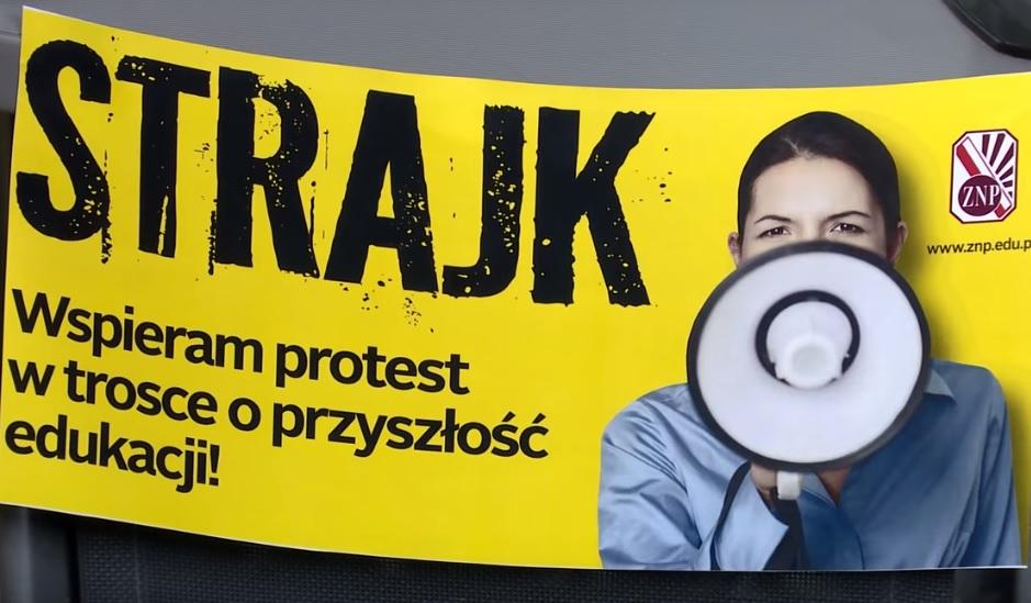 """Strajk nauczycieli: ta wojna potrwa? Powstał nawet fundusz """"Wspieram nauczycieli"""". Ile składki przypada na (mądrą) głowę? Liczymy!"""
