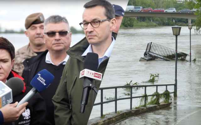 """Znów pół Polski walczy z powodzią. Huraganów, susz i powodzi będzie coraz więcej. Czy wkrótce będziemy płacili obowiązkowe ubezpieczenie """"od klimatu""""?"""