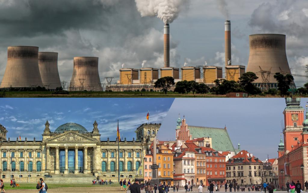Polsko-niemiecki pojedynek klimatyczny. Kto bardziej truje atmosferę na Ziemi: my czy oni? I co z tego wynika dla obywateli?