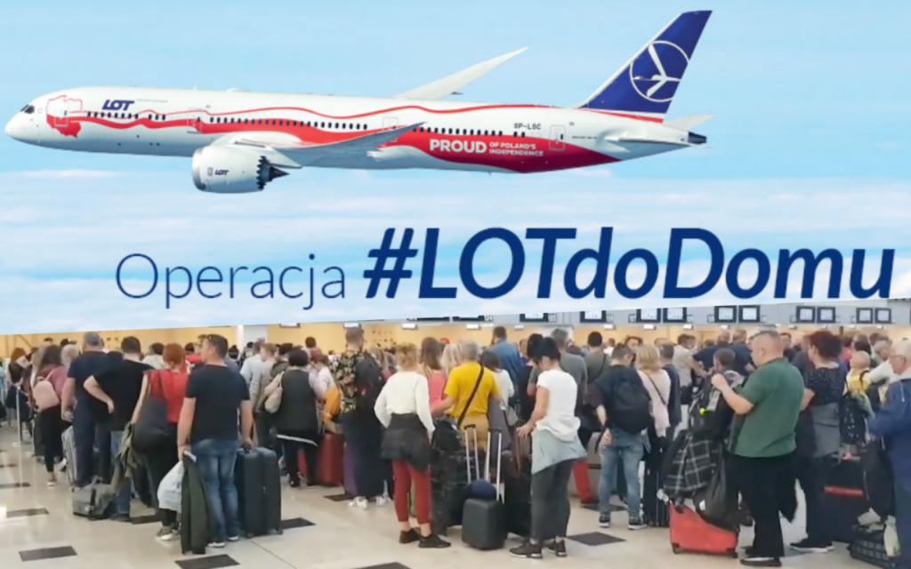 Czy akcja #LOTdoDomu to zawoalowany sposób na pomaganie LOT-owi w czasach koronawirusa? Bilety nie są tanie, ale…