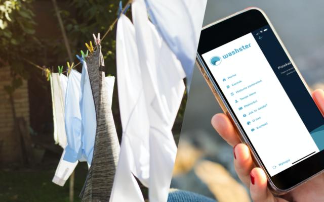 """Jak zamówić pranie i prasowanie, gdy nie wolno wychodzić z domu? Aplikacja Washster """"zrobi"""" pranie z dostawą door-to-door. Wrażenia? Mieszane"""