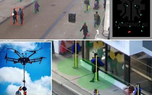 """Sztuczna inteligencja sprawdzi, czy dobrze zachowujesz się na ulicy, a pandemiczny dron zdalnie zmierzy gorączkę. Czy tak ma wyglądać """"nowa normalność""""? Czas się bać"""
