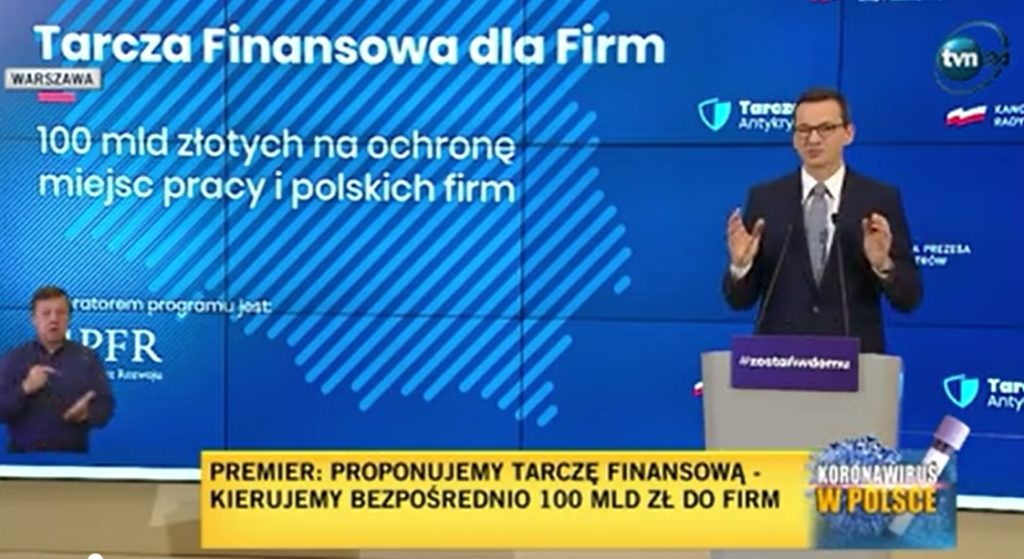 """Tarcza Antykryzysowa druga i pół, czyli premier zapowiada: """"będzie żywa gotówka dla firm"""". Na trzy lata, częściowo bezzwrotna. Co wiemy o tym pomyśle?"""