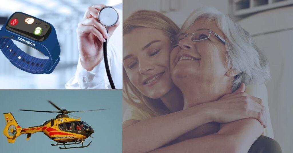 """Całodobowy monitoring zdrowia i błyskawiczna pomoc w razie potrzeby? AXA wprowadza polisę """"opiekuńczą"""" w abonamencie. Pomysł na prezent dla seniora? Testuję"""