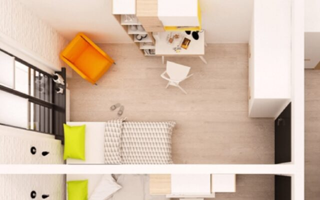 """Polskie mieszkania prawie najmniejsze w Europie. A inwestorzy kupujący lokale na wynajem """"wymuszają"""" na deweloperach ryzykowny trend – mikroapartamenty"""
