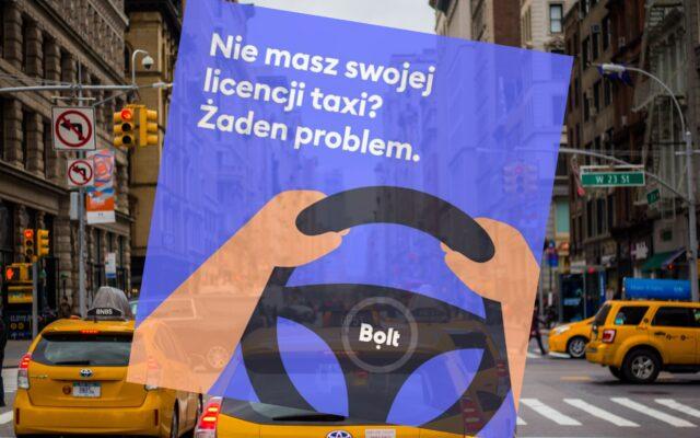 """Przewoźnicy szukają w sieci kierowców do taksówek. """"Ale spokojnie, nie musisz mieć licencji, zrobimy wypis"""" – pisze Bolt bez żenady. Strach zamawiać takie """"taxi""""?"""