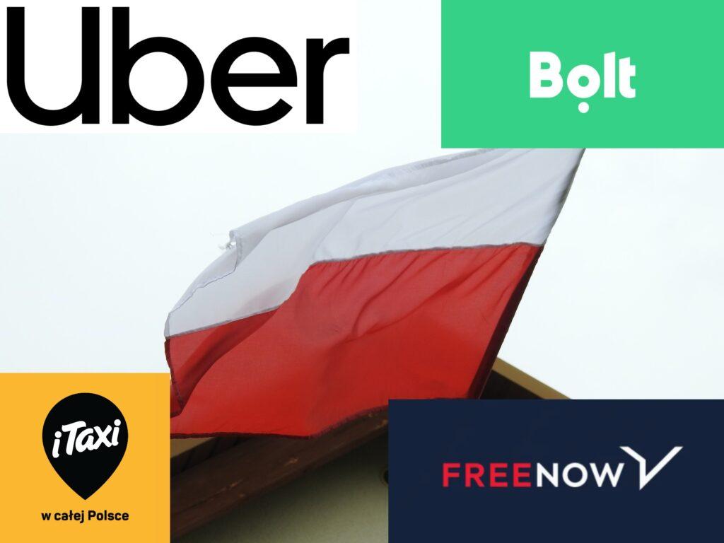 Problem Polaka-patrioty, gdy chce tanio pojechać. Wybrać Uber czy Bolt? Która firma jest mniej-nie-polska?