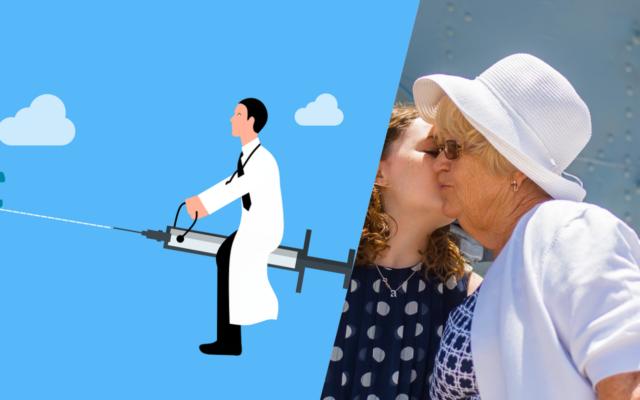 Prezent dla babci i dziadka? Profil Zaufany! Wyjaśniamy jak bezpiecznie zarejestrować się na szczepienie na koronawirusa bez wychodzenia z domu