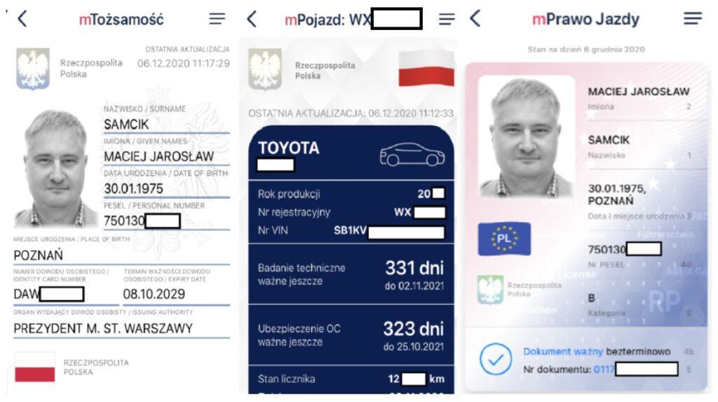 mObywatel zyskał kolejne funkcje. Jeśli masz tę aplikację, możesz nie brać już z domu żadnych dokumentów, ani portfela?