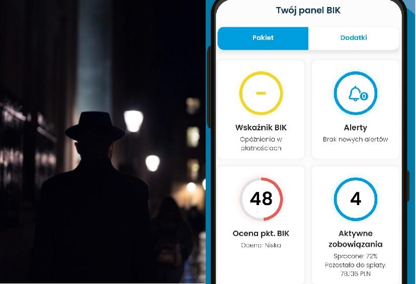 """Testuję nową aplikację """"Mój BIK"""". Centrum informacji o moich kredytowych relacjach z bankami, scoring, analiza szans na kredyt i… Ale czy warto mieć to w kieszeni?"""