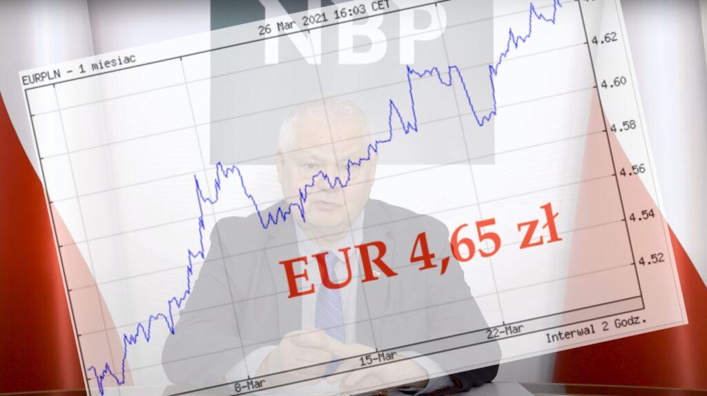 Złoty ma kłopoty. Kurs euro jest już najwyższy od 12 lat! Niektórzy analitycy wieszczą, że wkrótce wyniesie 4,9-5 zł. Czy to NBP nawarzył walutowego piwa?