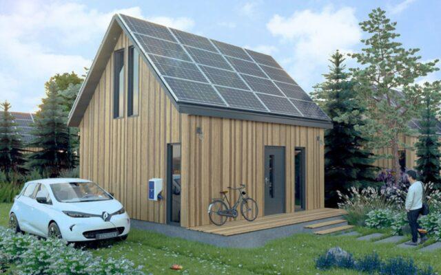 Ekologiczna rewolucja w budowie domów? Polska spółka chce budować tanio i szybko samowystarczalne energetycznie osiedle na Mazurach. Konkret czy miraż?