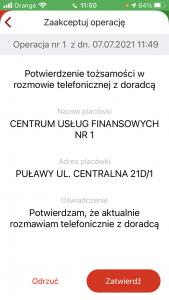 mBank weryfikacja mobilna