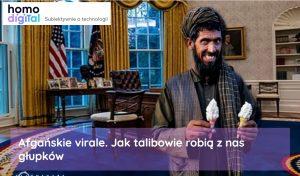 Afganistan Talibowie imedia społecznościowe