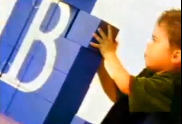 Bogdan mówi Bankowy reklama screen